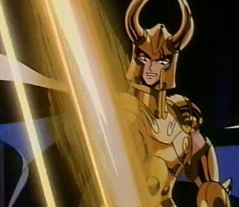 Les armures d'or Excalibur