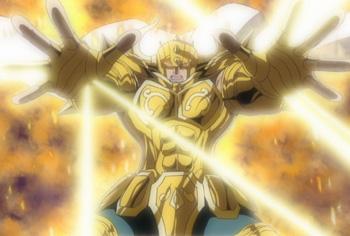 Les armures d'or GH